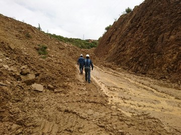 Restringen tráfico vehicular en el tramo Padilla-El Salto