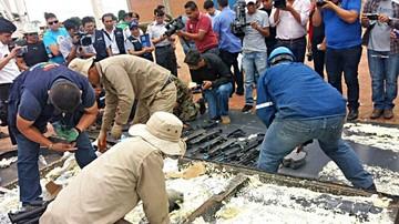 Romero: Arsenal de armas estaría destinado a Brasil