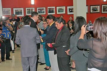 Sucre: 49 abogados reciben su credencial