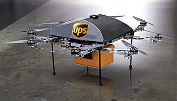 Dron ayudará a conductores con  paquetes en EEUU