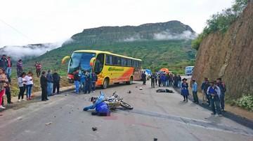 Seis personas fallecidas es el saldo de accidentes de tránsito