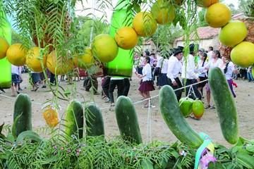 Carnaval de El Tejar sella  el gusto por sus costumbres