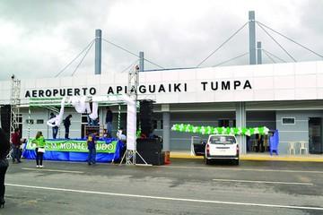 Aeropuerto en Monteagudo aún no opera