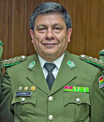Policía: Juan Carlos Flores comandará en Chuquisaca