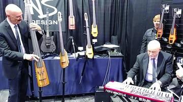 Tony Levin toca en formato cuarteto en Bolivia