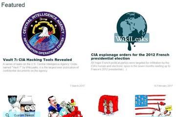 WikiLeaks filtra detalles de un programa encubierto de espionaje de la CIA