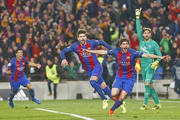 Barcelona gesta una remontada nunca antes vista