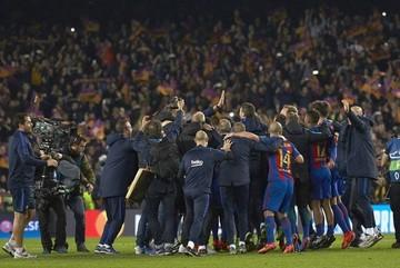 UEFA abre expediente al Barça por invasión de campo tras partido ante PSG