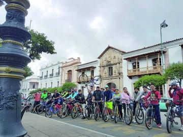 Impulsan el uso de la bici como un transporte diario