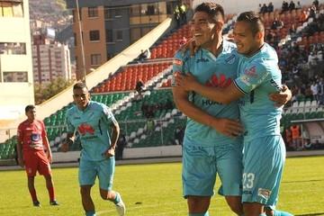 Bolívar derrota 2-0 a Guabirá y le quita el invicto