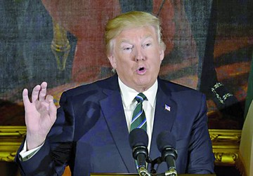 Trump propone presupuesto e incluye el muro