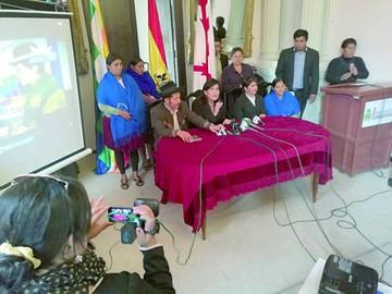 "Campaña ""#Mar ParaBolivia"" se presenta en Sucre"