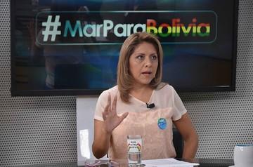 Ministra de Comunicación: Campaña marítima no es agresiva con Chile
