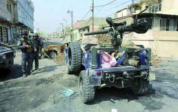Fuerzas iraquíes intentan tomar centro de Mosul