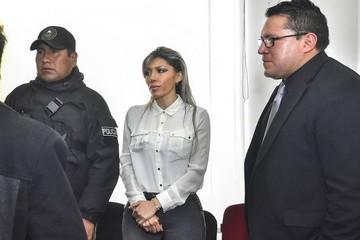 Juicio oral: Zapata afirma que tuvo contacto con Evo por el tema CAMC