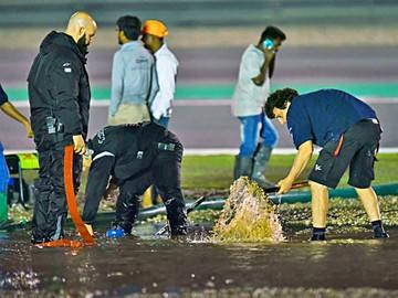 Lluvias afectan a MotoGP