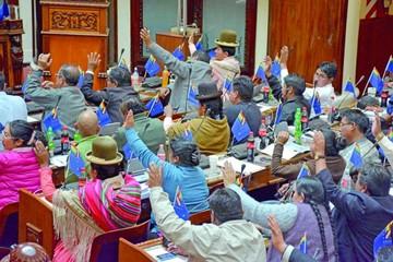 MAS aprueba informe sobre  la crisis del agua en La Paz