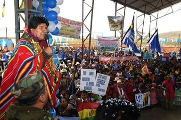 El 83% de bolivianos tiene poco o nada de confianza en Morales, según sondeo