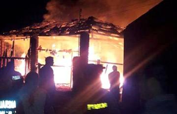 Niño de cinco años muere calcinado en Guayaramerín a causa de un incendio