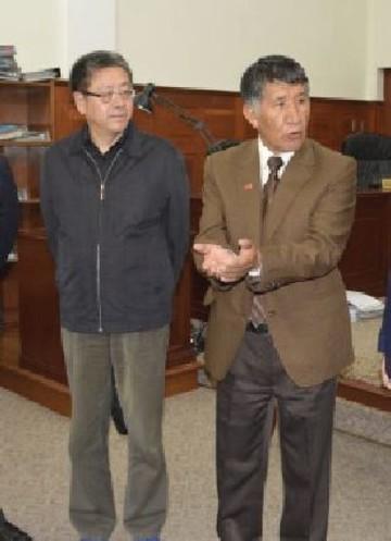Funcionarios judiciales de China visitan el TSJ