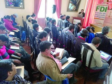 El nuevo Fondo Indígena se repone en Chuquisaca