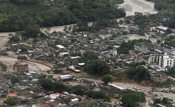 Catástrofe por avalancha en Colombia deja al menos 154 muertos y 200 heridos