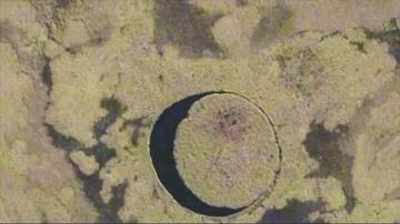 El ojo: Una misteriosa isla circular en Argentina