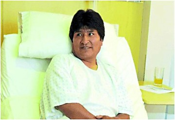 "Morales inicia ""silenciosa"" recuperación tras cirugía"