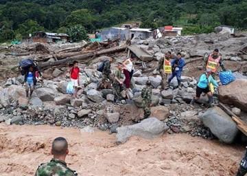 Colombia: Aumentan a 207 las víctimas fatales por avalancha