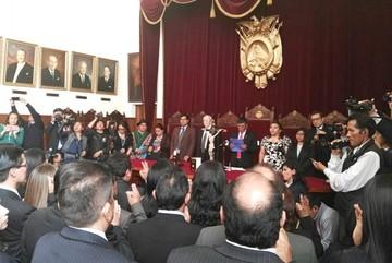 TSJ posesiona a 26 nuevos vocales para varios tribunales departamentales