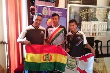 Raquetbolistas chuquisaqueños viajan al Panamericano de San José