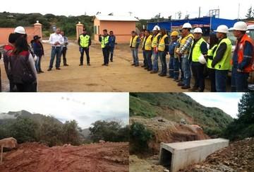 Inspección a la construcción del tramo Padilla-El Salto revela retraso e irregularidades