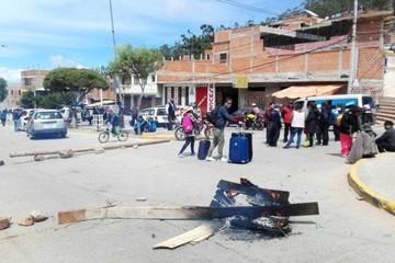 Bloqueos en Sucre paralizan parcialmente la ciudad en segundo día de paro de la COD