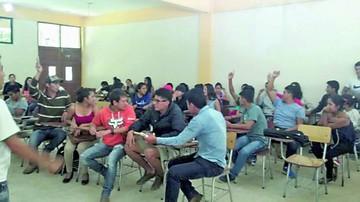 Monteagudo: Sigue toma  de la unidad académica