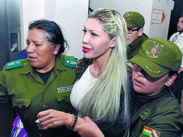 Zapata seguía firmando en la cárcel como abogada