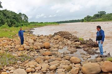 Proveerá piedras chancadas del río Yapacani a CONCRETEC