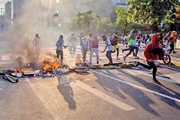 Disturbios en Venezuela tras marcha de oposición