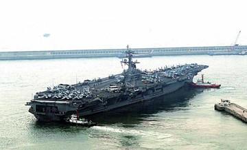 Flota de guerra de EEUU se dirige a península coreana