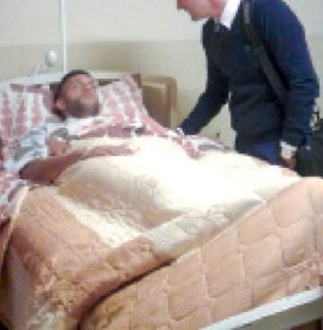 Quintana retornó a Sucre luego de estar internado
