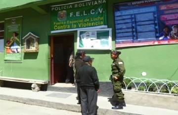 FELCV aprehende a sujeto acusado de violar a su madre en El Alto