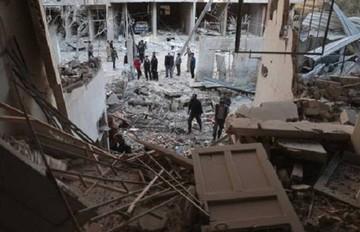 Supuestos aviones rusos bombardean la localidad siria de Jan Shijún