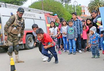 Fiesta y reclamos marcan Día del Niño en la región