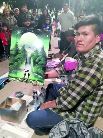 Artistas urbanos sorprenden con sus pinturas
