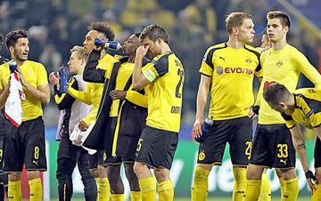 El Dortmund  quiso retirarse