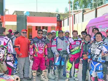 Caravana concluye en Sucre