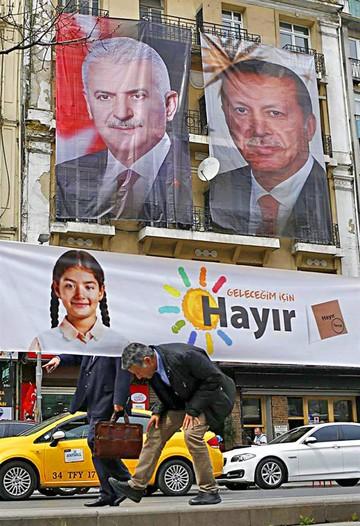 Turquía cerca de la dictadura