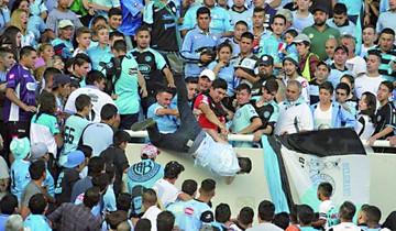 Fallece hincha en Argentina