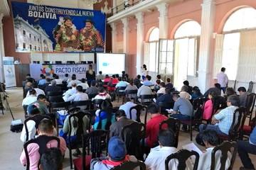 Chuquisaca: Tercera etapa de debate del pacto fiscal comenzará en mayo