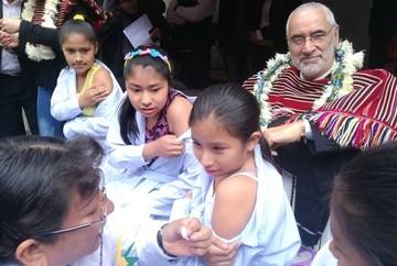 Comienza la vacunación contra el virus de papiloma humano en Chuquisaca