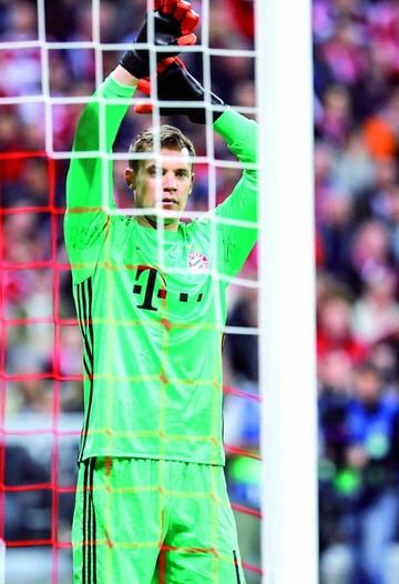Neuer jugó con un pie fracturado ante el Madrid